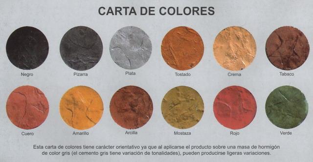 carta de colores hormi europa